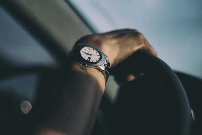 Stock image of Gucci watch