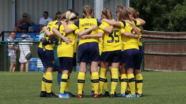 Oxford United Women have not played at home for a month Picture: Tom Melvin