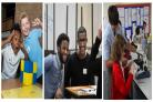 Images from some of the partnership events held at Magdalen College School. Pics: MCS