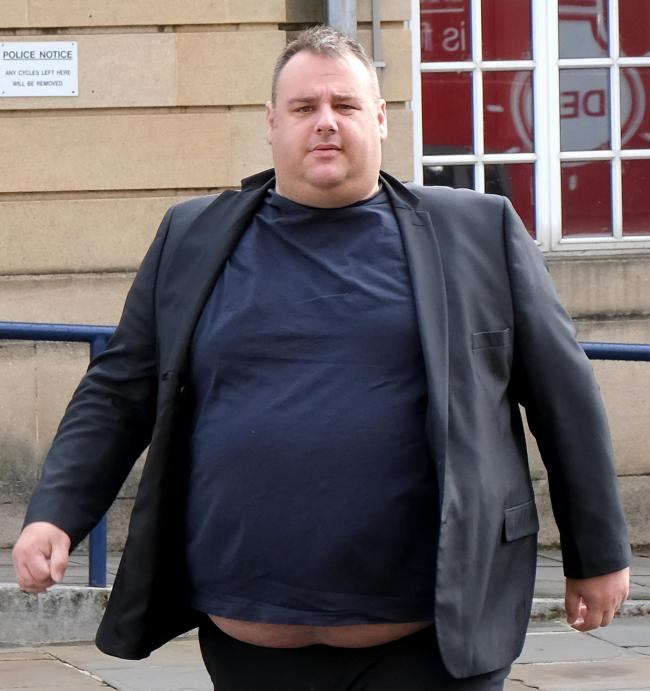 Christopher Schubert outside Oxford Crown Court