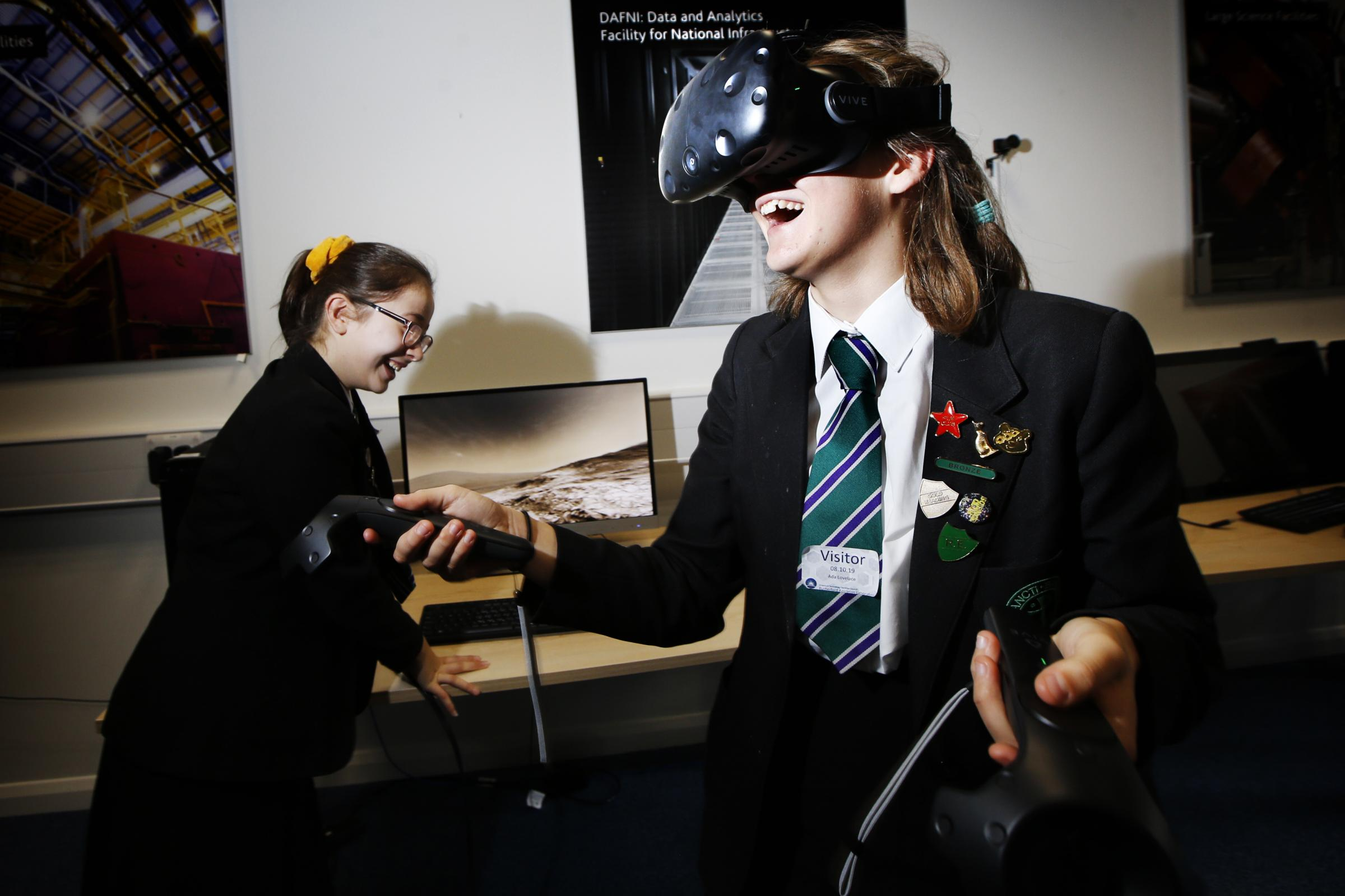School event at Rutherford Appleton Laboratory for Ada Lovelace Day