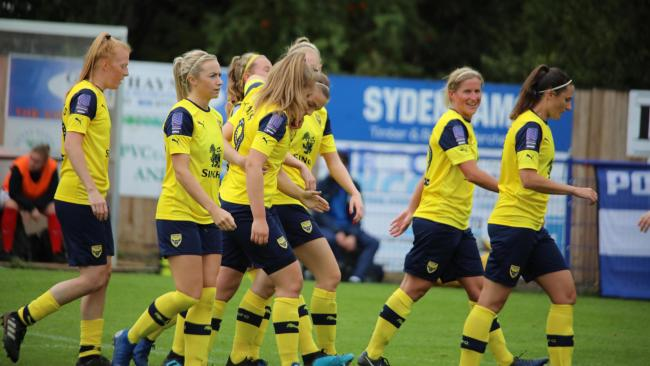Oxford United Women   Picture: Darrell Fisher