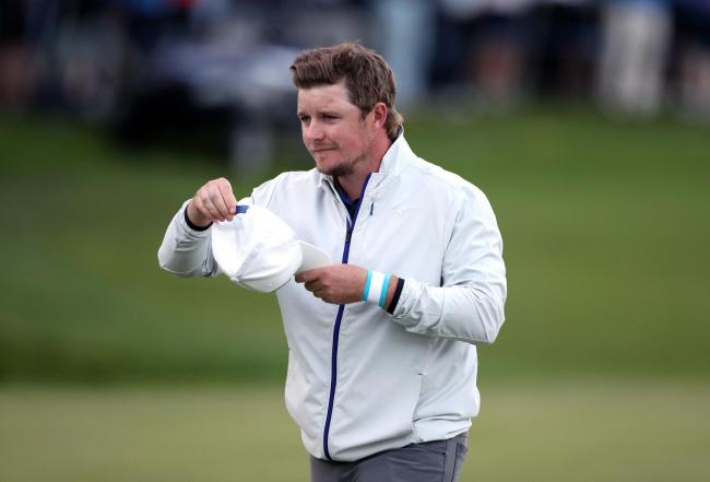 Eddie Pepperell tees off in the Italian Open today               Picture: PA Wire