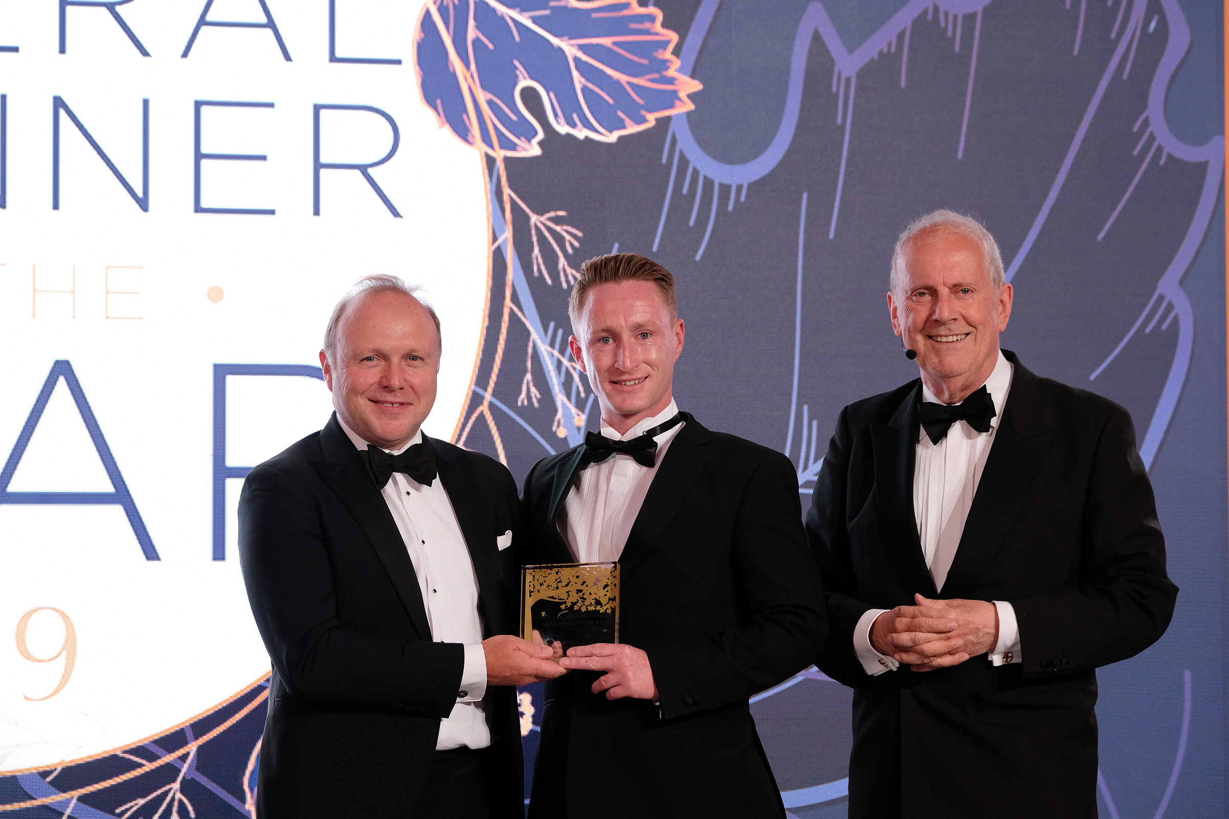 Funeral director Carl Boswell wins top accolade