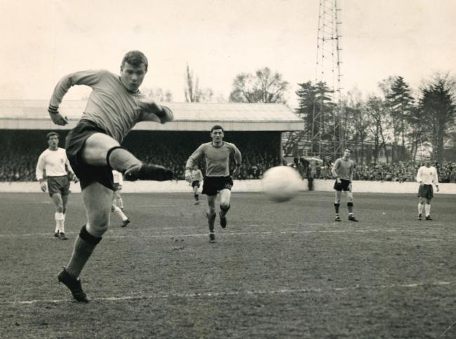 Graham Atkinson scored one of Oxford United's six goals in their 6-1 win over Doncaster Rovers in September 1966