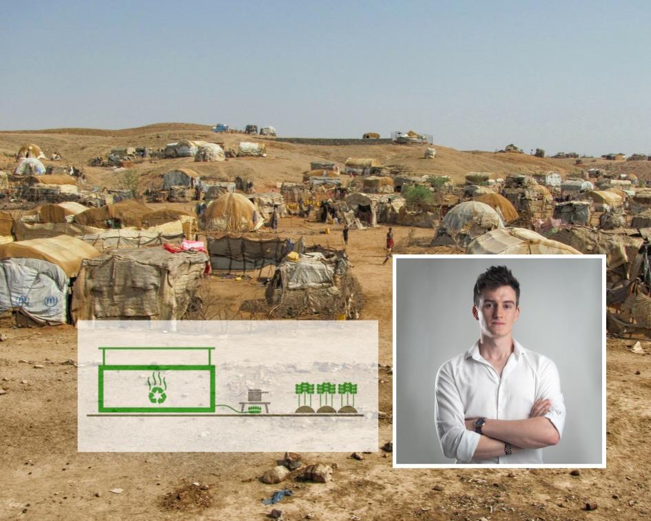 Businessman on mission to bring sanitation to refugee camps