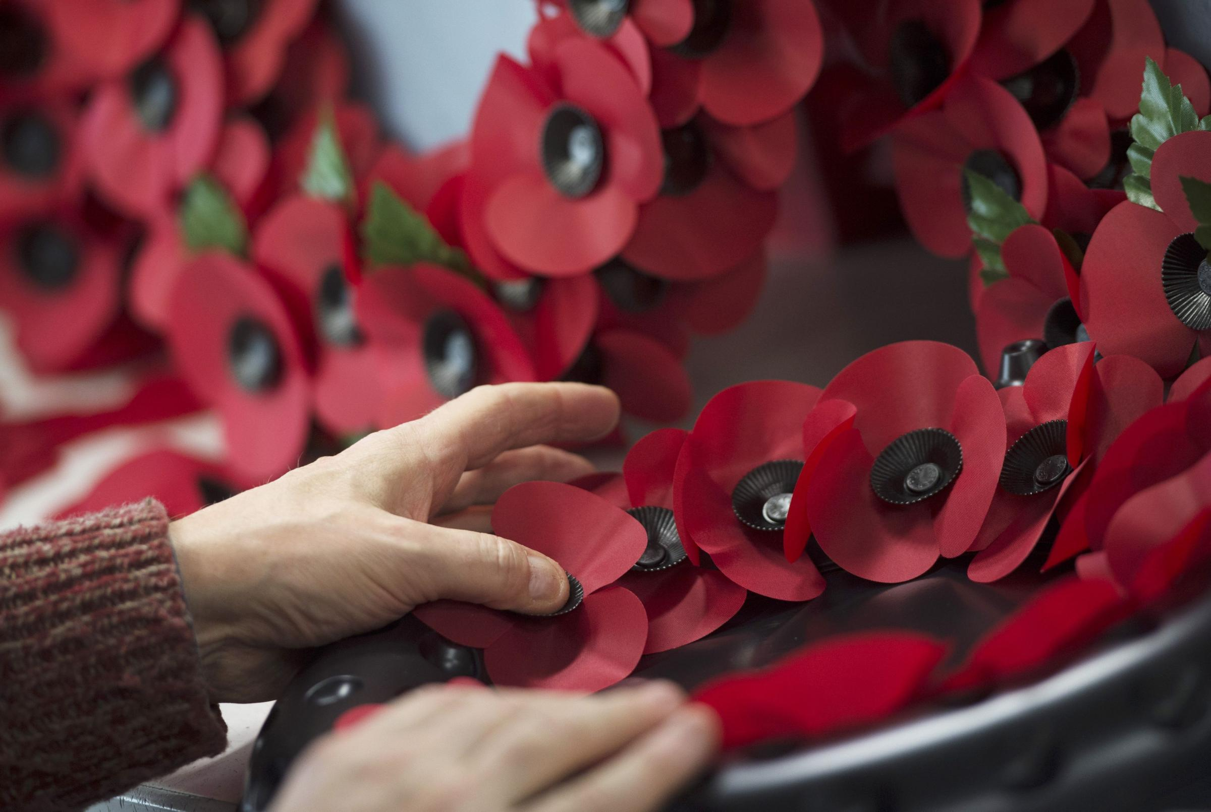 Witney Remembrance: where to buy a poppy wreath