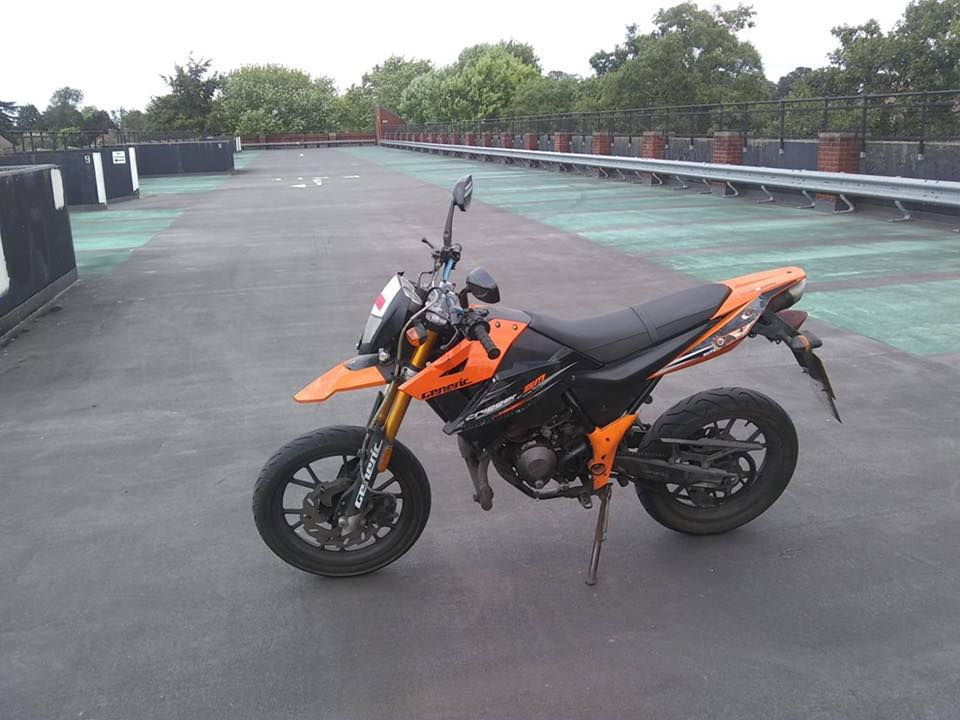 Motorbike stolen from Abingdon: owner and police appeal