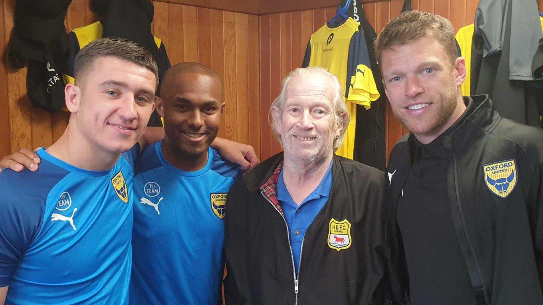 Oxford United superfan Andy 'Womble' James dies