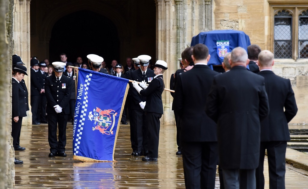 Inside the funeral of PC Andrew Harper at Christ Church Cathedral