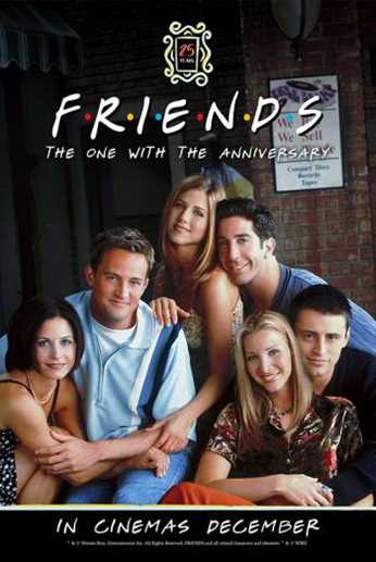 THREE Friends marathons coming to cinema screens this Christmas