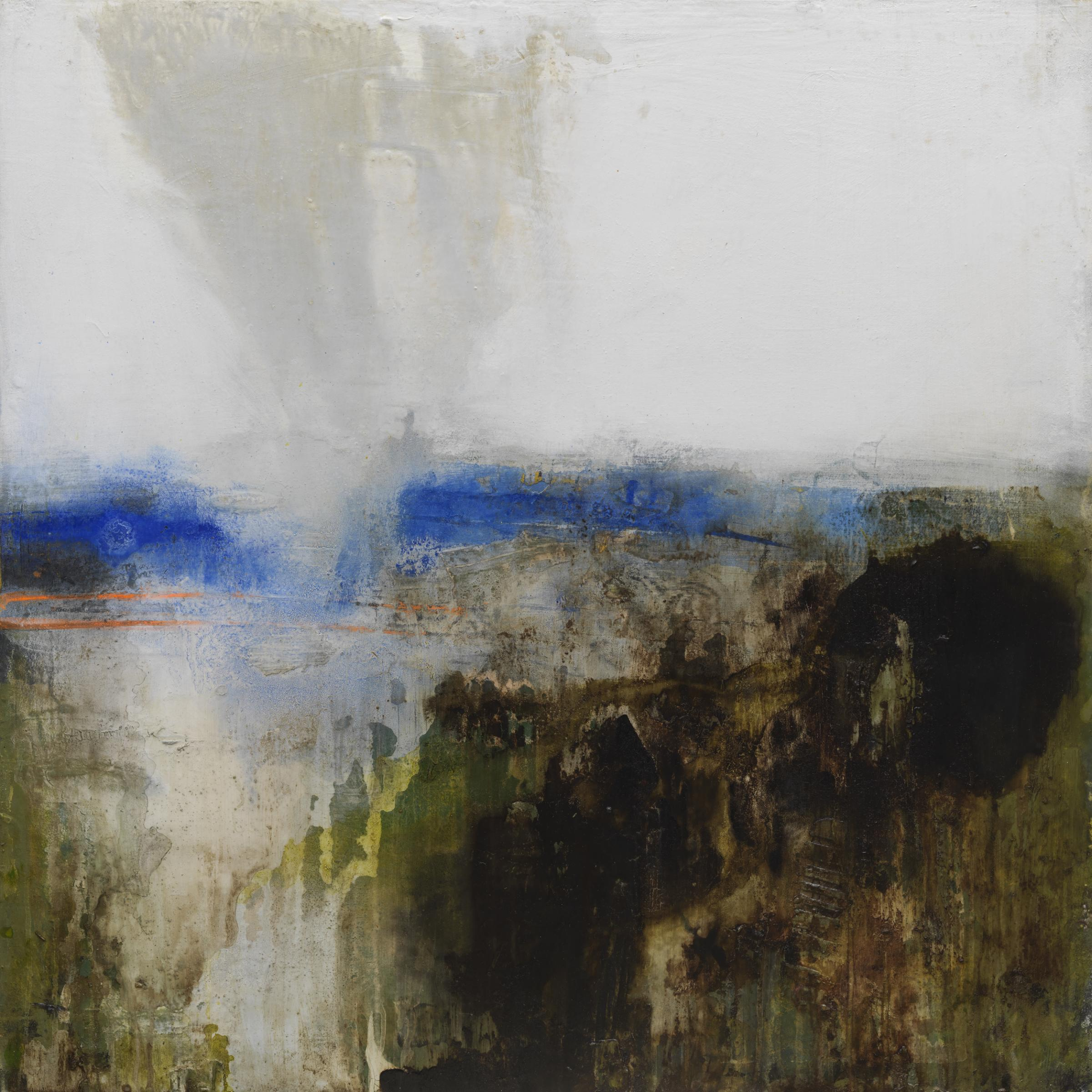 John Maxwell-Steele's abstract landscapes go on show at Brian Sinfield Gallery, Burford