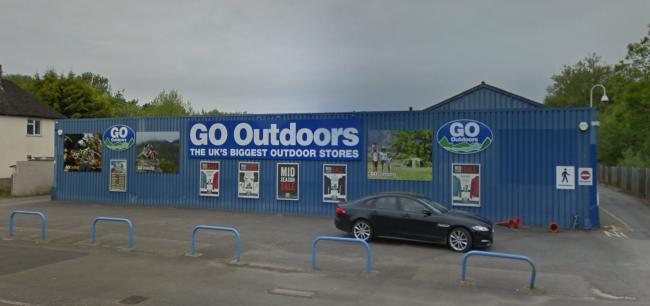 Go Outdoors in Oxford. Pic from Google Maps
