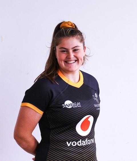 Maud Muir, pictured in Wasps kit