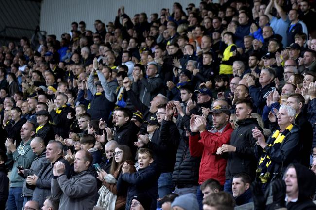 Oxford United supporters at the Kassam Stadium last weekend   Picture: David Fleming