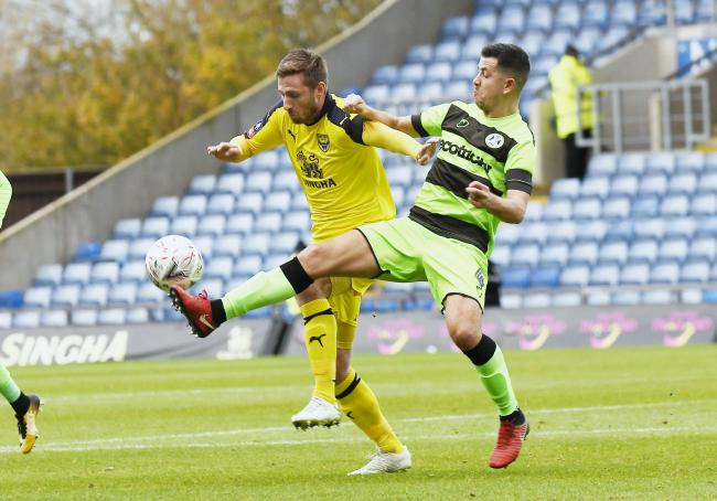 Oxford United came up against Forest Green Rovers in the FA Cup first round last season  Picture: David Fleming