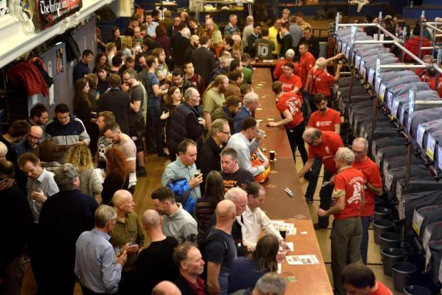 Oxford Beer and Cider Festival 2018. Picture: Richard Cave
