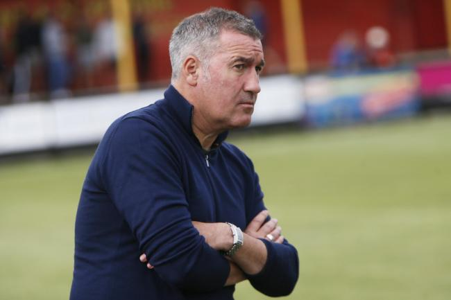 Banbury United boss Mike Ford