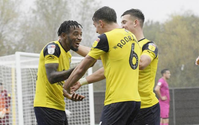 Oxford United's Tariqe Fosu wins League One fans' vote for player of the month