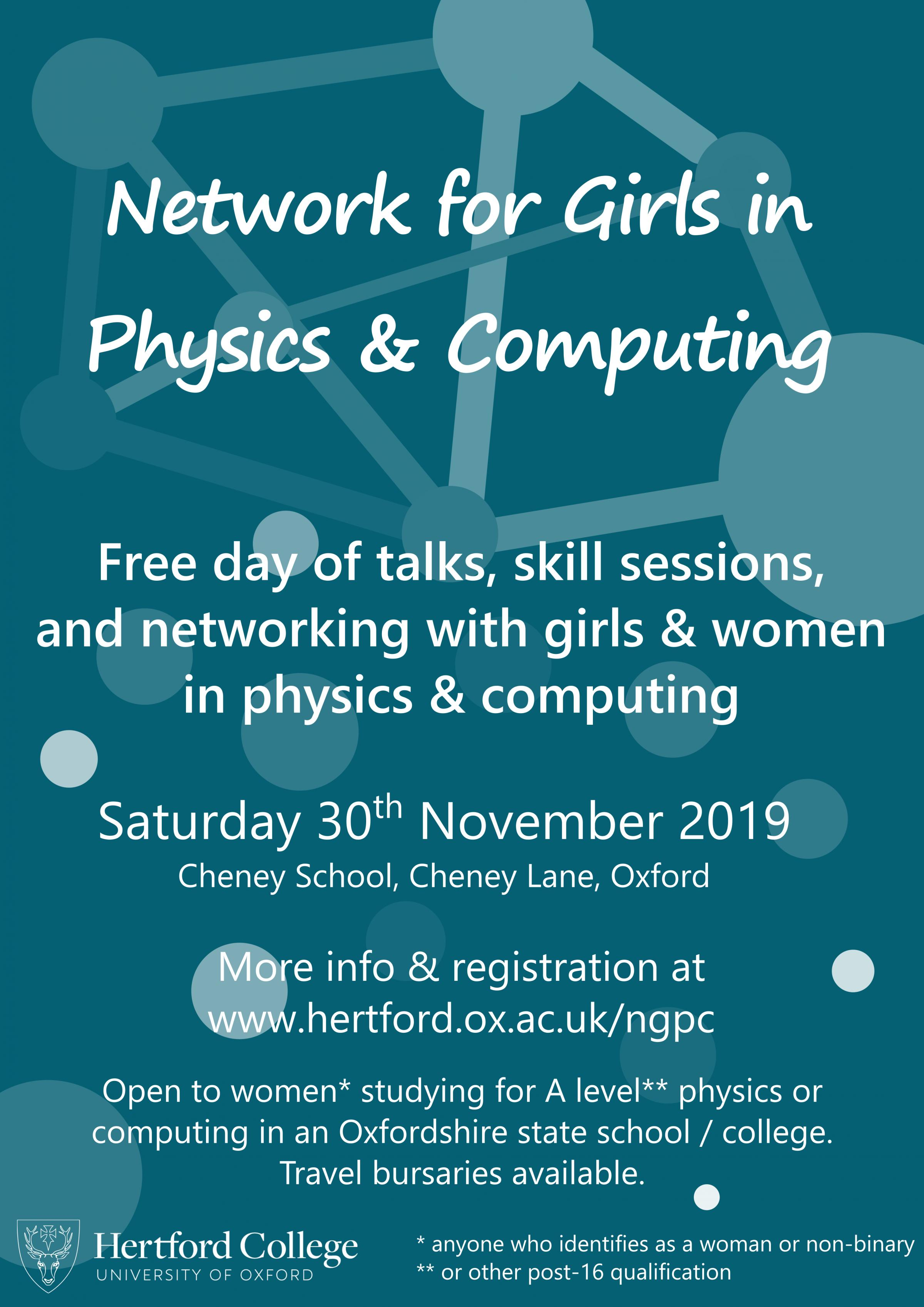 Network for Girls in Physics & Computing