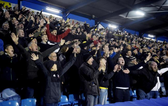 Oxford United's support at Fratton Park on Saturday was the club's second largest away contingent for 13 months   Picture: David Fleming
