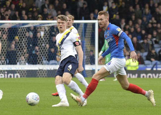 The most likely outcome to the season would appear to set Oxford United up with a play-off semi-final against Portsmouth    Picture: David Fleming