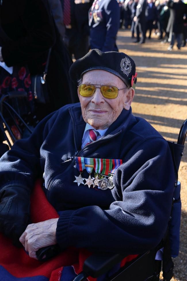 Ken Cook Picture Blind Veterans UK