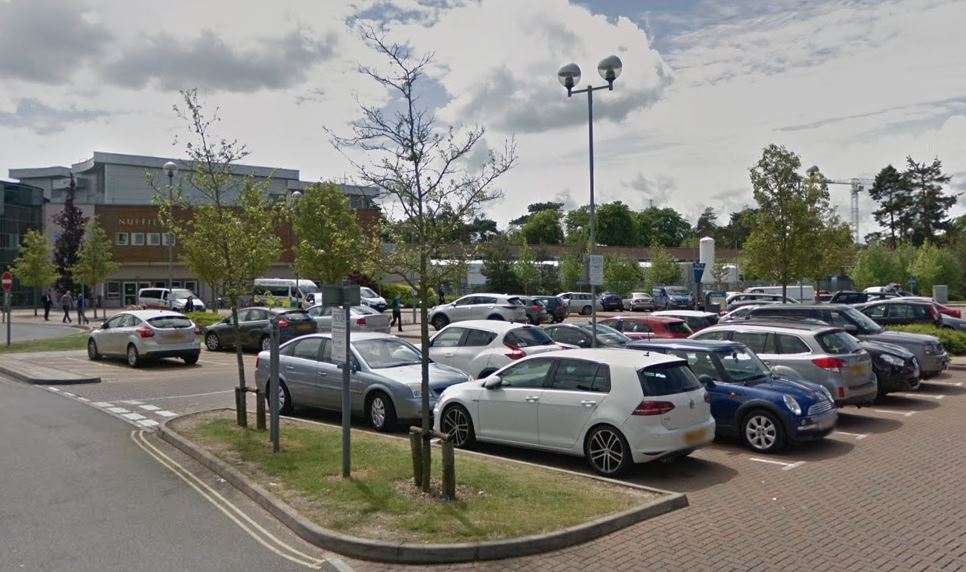 Woman attacked while walking through Oxford hospital car park