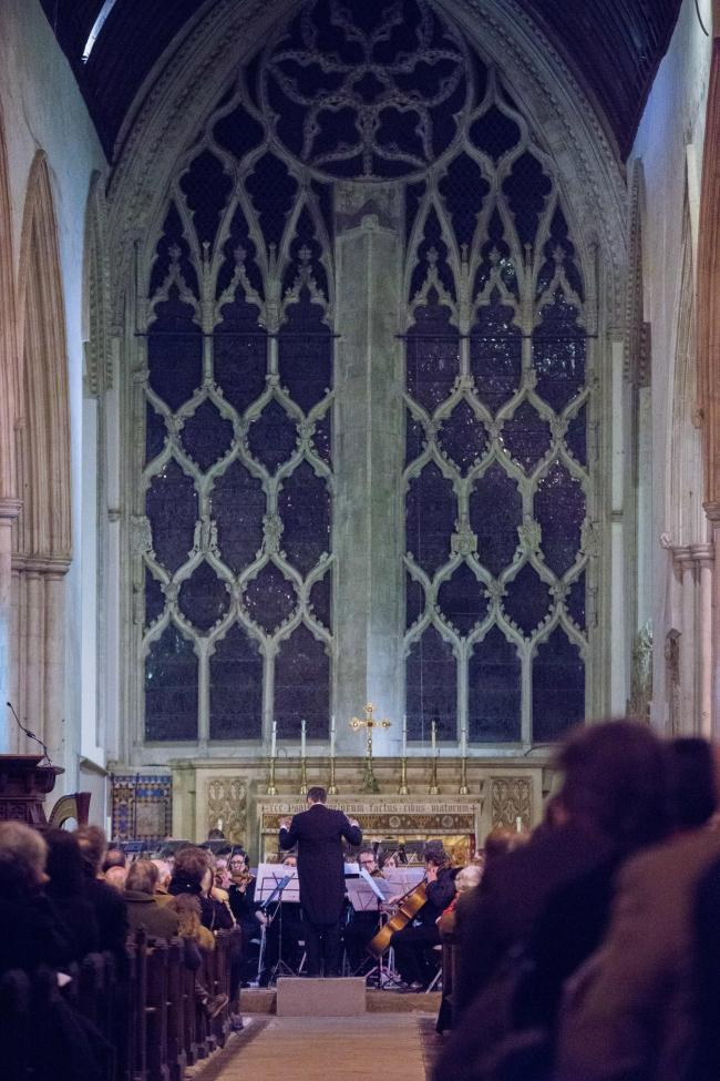 File photo of a concert at Dorchester Abbey