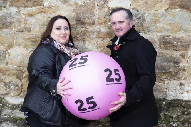 Charmaine and Robbert Watson from Eynsham celebrate National Lottery birthday                                                                                                                                    Photo: James Robinson