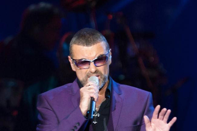 George Michael during his Symphonica, The Orchestral Tour