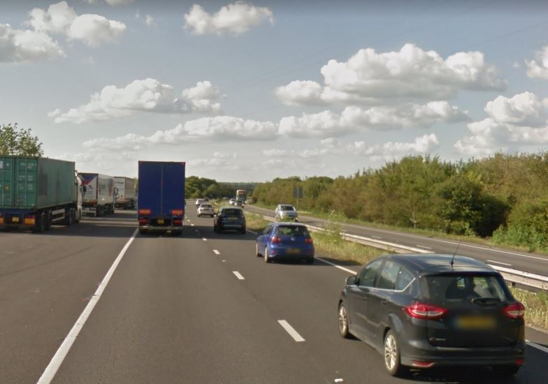 A34 crash near Abingdon - seven injured in three-car collision