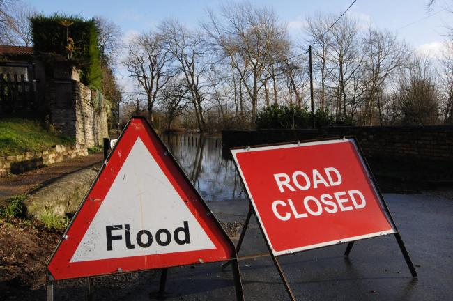 Flooding has affected places across Oxfordshire (archive image of Islip)