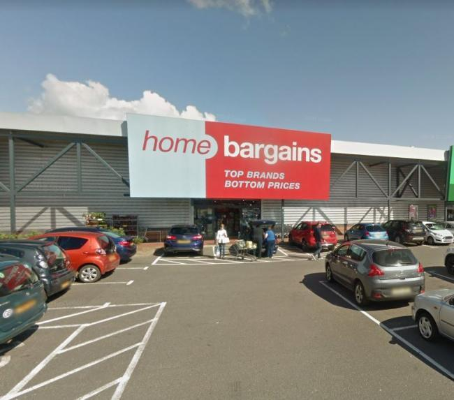Home Bargains in Banbury is one of the nearest stores to Oxford at the moment. Picture: Google Maps.