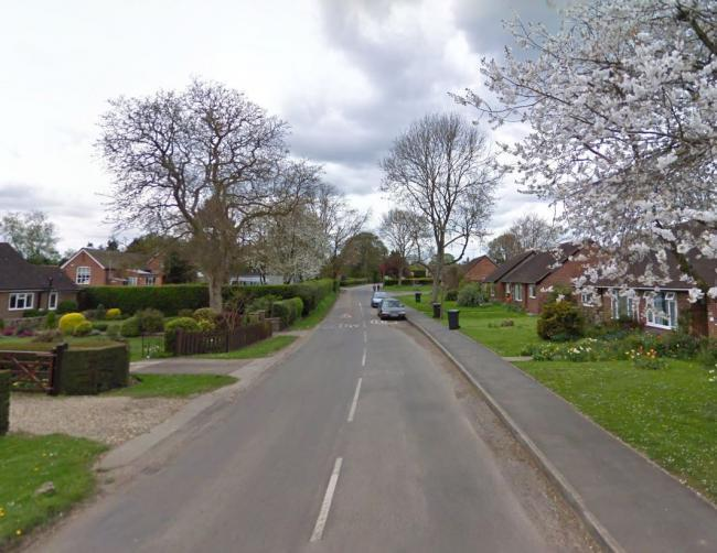 Part of the unnamed main road running through Stoke Row, where the fall happened. Pic: Google Maps