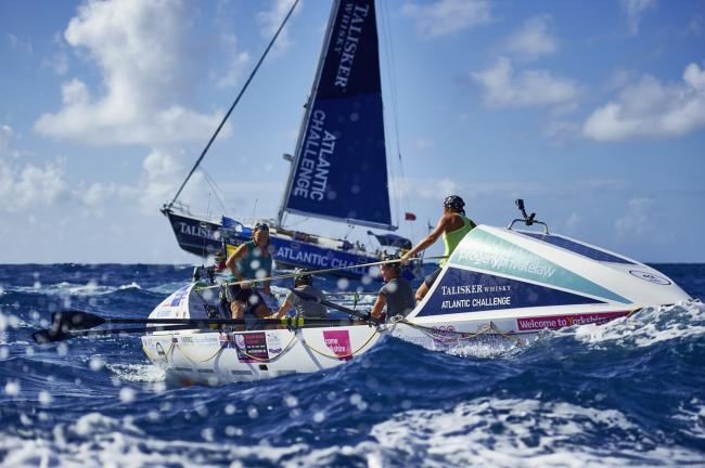 Yorkshire Rows arrive in Antigua to finish the Talisker Whisky Atlantic Challenge and become the oldest female team to have rowed an ocean