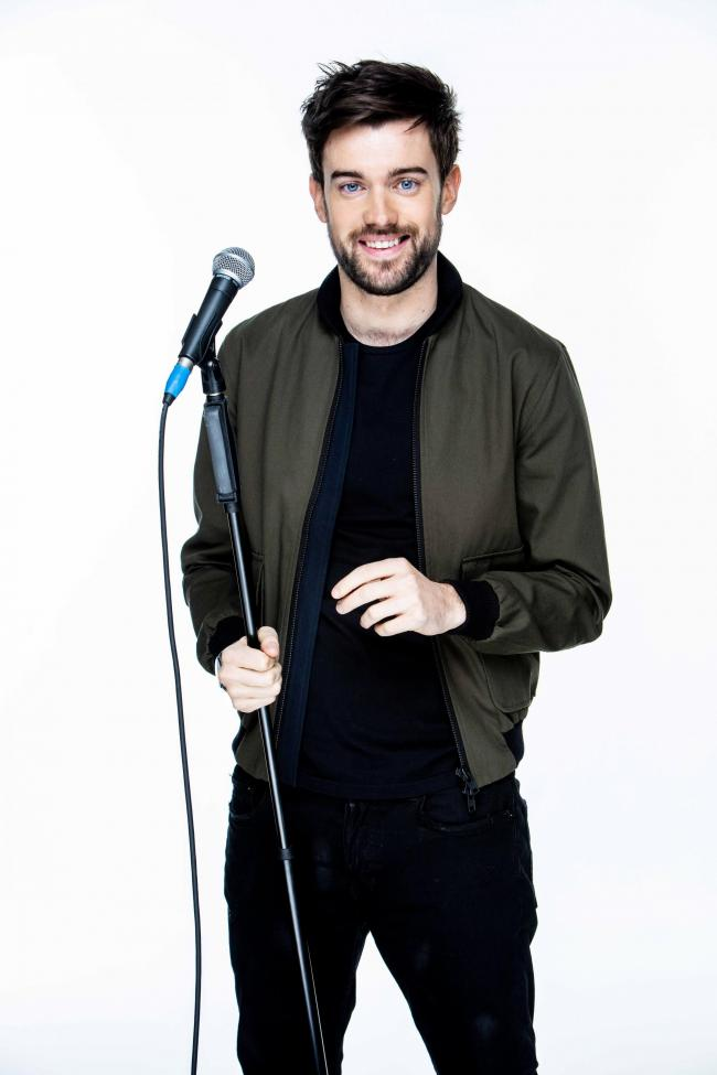 Toilet humour: Jack Whitehall performed two sets of his show Stood Up. Picture: Trevor Leighton
