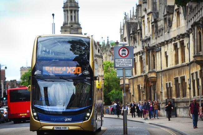 Stagecoach bus in Oxford
