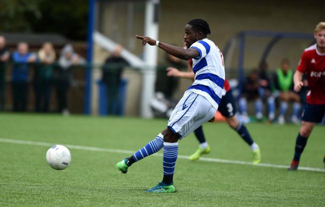 Nana Owusu scored Oxford City's goal in their draw with Hornchurch Picture: Mike Allen