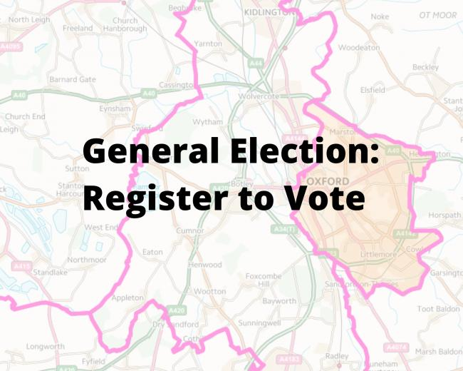 General Election 2019: the deadline to register to vote is tomorrow at midnight.