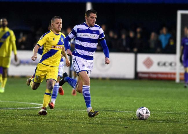 Joe Oastler was one of two Oxford City players to miss penalties against Hornchurch