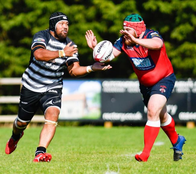 Ofisa Treviranus returns to the Chinnor squad tomorrow Picture: Simon Cooper