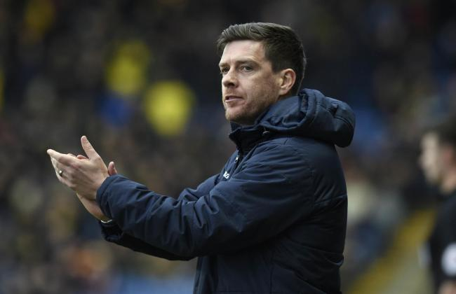 Walsall manager Darrell Clarke Picture: David Fleming.
