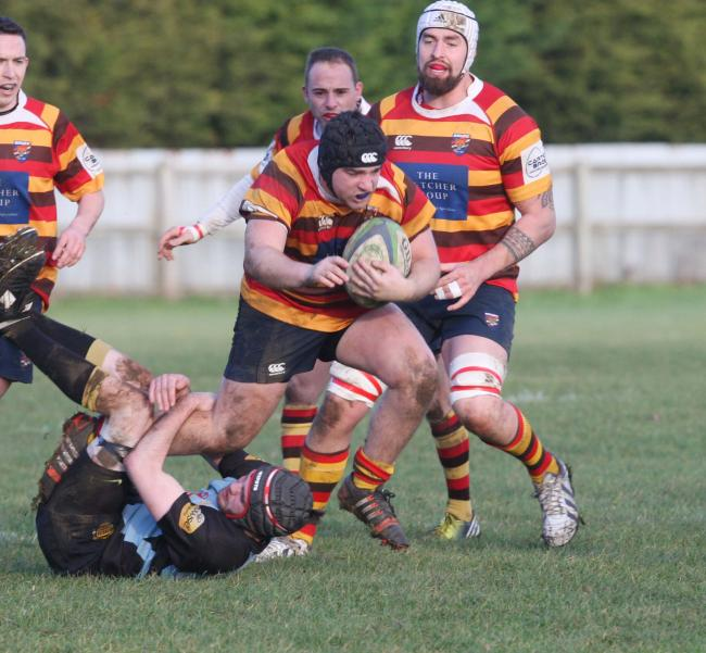 Will Anns scored two tries for Bicester