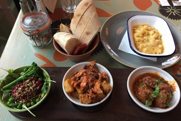 The tapas board with macaroni cheese at Berro Lounge, Didcot Picture: James Roberts