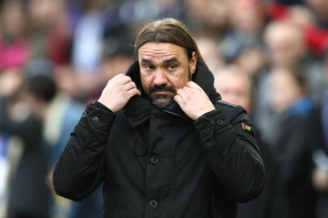Daniel Farke's Norwich take on Southampton on Wednesday