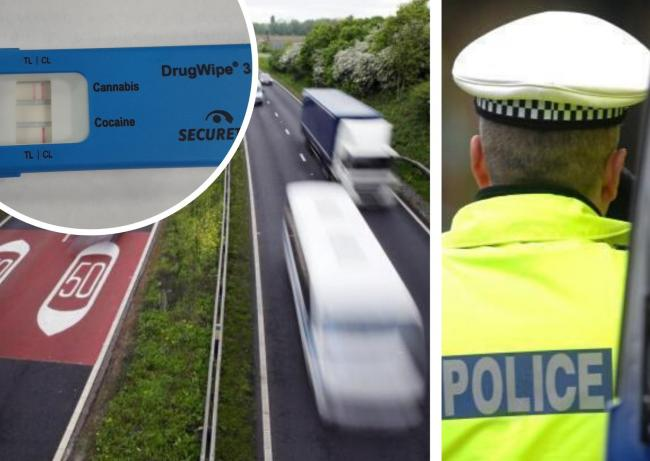 Driver arrested on A34 after police smell cannabis