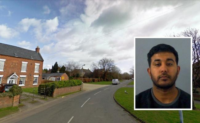 Manor Road, Banbury. Inset: Amir Taseem of Manor Road, who was jailed at Oxford Crown Court for being concerned in the supply of cocaine. Pictures: Google Maps/ Thames Valley Police