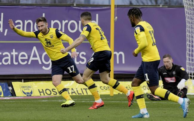 James Henry is Oxford United's top scorer this season, with 11 goals Picture: David Fleming