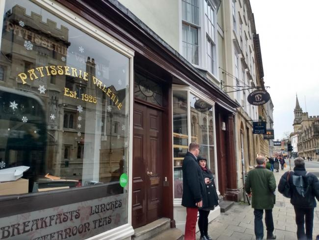 The Patisserie Valerie in High Street has closed Picture: Andy Ffrench